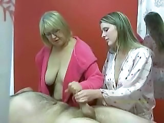 Handjob Massage Old and Young Jerk Old And Young Senior