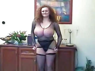 Fishnet Stockings Panty Ass Big Tits Big Tits Ass Big Tits Milf