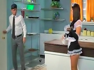 Kitchen Maid Uniform Kitchen Sex Maid + Anal Maid Ass