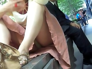 upskirt older lady 1