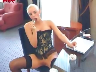 Corset MILF Secretary Corset German Milf Milf Stockings