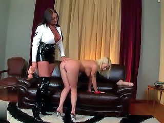 Toy Ass Latex Domination Milf Ass Milf Lesbian