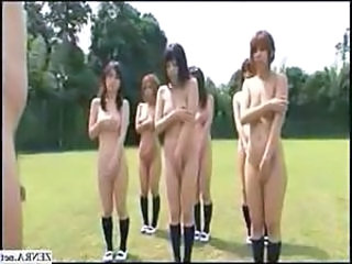 Nudist Student Japanese Asian Teen Gym Japanese School