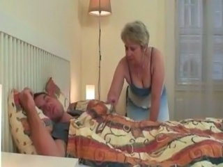 Mom Sleeping Mature Mom Son Old And Young Sleeping Mom