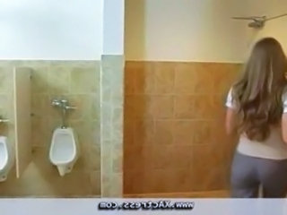 Long Hair Secretary Toilet Boss Blowjob Pov