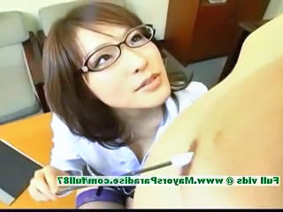 Nao Ayukawa innocent naughty chinese teacher is teaching her class how to fuck