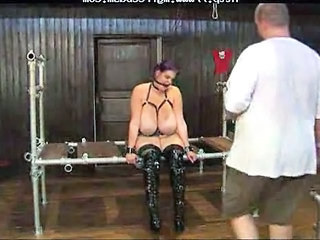 Bdsm Bondage Fetish Tied Big Tits Domination
