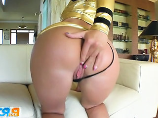 I caught this flight attendant in the VIP lounge before my flight. She really wanted to fuck so we got to it. I pounded her pussy and fed her a load of cum