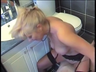 Toilet French European French Mature Riding Mature