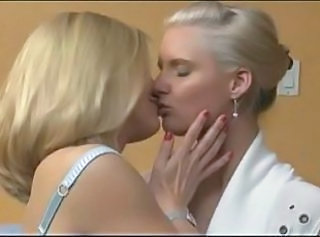 Blonde Milf Lesbians and their Strapon