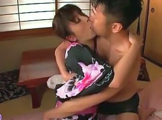 Wife Kissing MILF Blowjob Japanese Blowjob Milf Japanese Blowjob