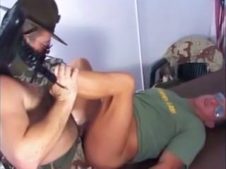 Hot Gay Military Dad & Sergeant
