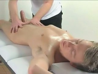 Blond Gets A Handjob