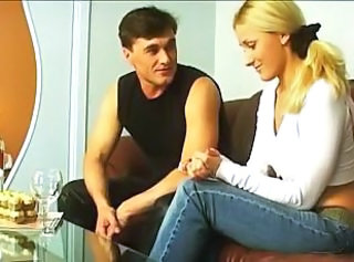 Russian Blonde Marina Enjoy Anal Fuck Jj