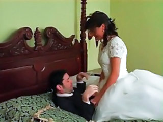 Bride Clothed Dress Fight