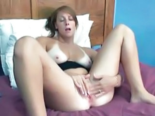 Video from: tubewolf | Her gorgeous breasts are hot in fingering video tubes