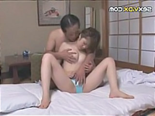 Japanese girl gets fucked and fingered and gets fucked again
