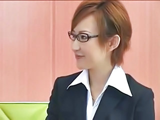 Secretary Glasses Cute Cute Asian Cute Ass Cute Japanese