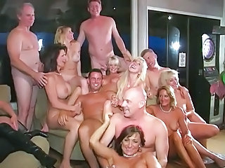 Swinger group orgy
