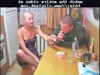 drunken solder fucks blond wife