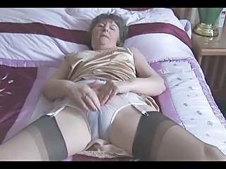 Granny Granny Hairy Granny Stockings Hairy Granny