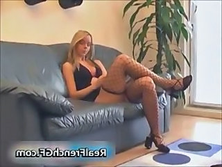 Fishnet Amateur Blonde Amateur Fishnet French
