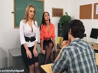 School Teacher Student School Bus School Teacher Student Busty