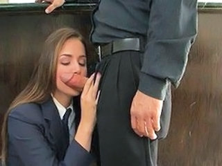 Tori Black is a very naughty schoolgirl