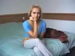 Naive Young Blond Virgin Seduced...