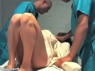 Hot slut Taylor Rain getting double penetrated hard and cummed over