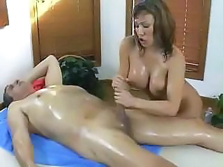 Handjob Massage Oiled Massage Milf Massage Oiled Milf Ass