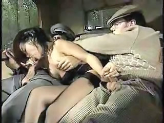 Stockings Threesome Vintage Blowjob Milf Car Blowjob European