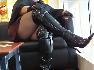 Latex Legs Upskirt Upskirt Wife Homemade