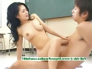 School Student Riding Asian Teen Japanese School Japanese Teen