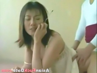 Chinese Asian Doggystyle Chinese Housewife