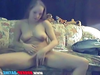 Cute petite dutch teen amateur does striptease