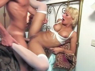 Blonde European Hardcore Italian Milf Milf Stockings Stockings