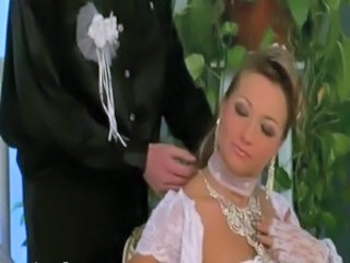 Sexy bridal party slut free