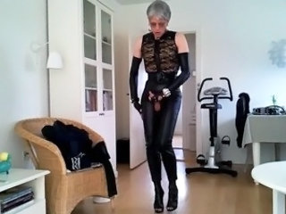 Granny Latex Granny Sex Leather