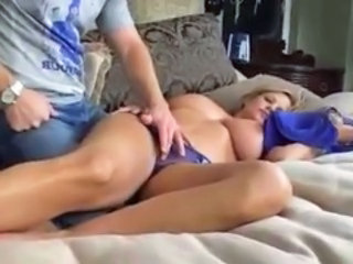 "Sleeping Big Breasted Mom"" target=""_blank"