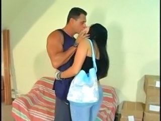 Latina MILF Kissing Latina Milf