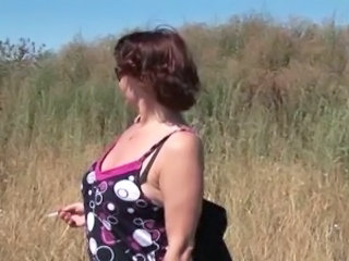 Smoking Mature Outdoor Bbw Mature Mature Bbw Outdoor