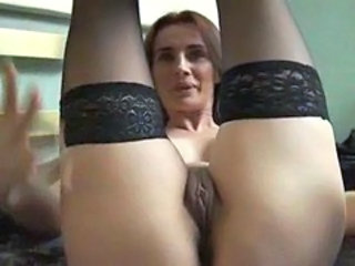 Close up Masturbating  Milf Stockings Stockings