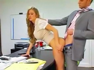 Secretary Amazing Clothed  Milf Office Office Busty