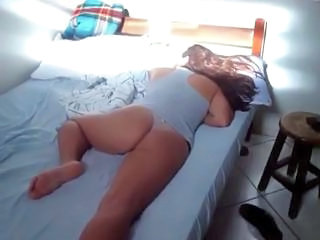 Sleeping Homemade Amateur Milf Ass