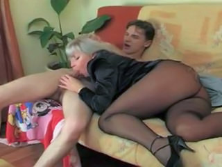 Mom in stockings anal fck and Sexy Granny in stockings Sex Tubes