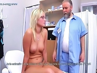 Daddy Blonde Doctor Blonde Teen Czech Dad Teen