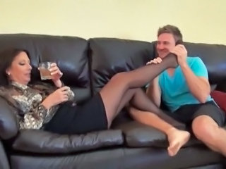 Feet Legs Fetish Stockings