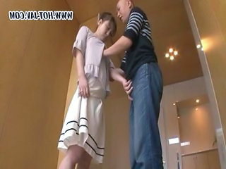 MILF Mom Skirt Handjob Asian Japanese Milf Milf Asian