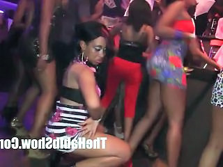 Dancing Ebony Party Club Ebony Teen Public